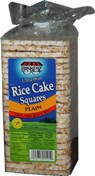 Rice Cakes Thins Square Plain 155g