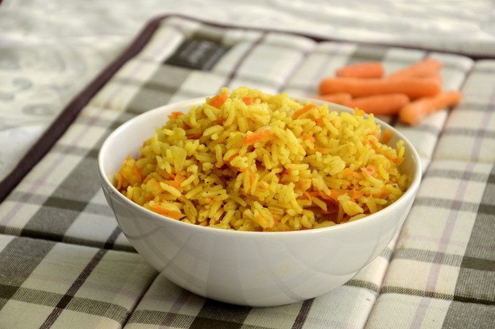 Rice with Peppers & Carrots 400G