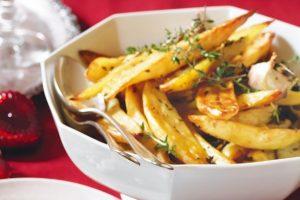 Roast Potatoes with Garlic & Thyme 500G