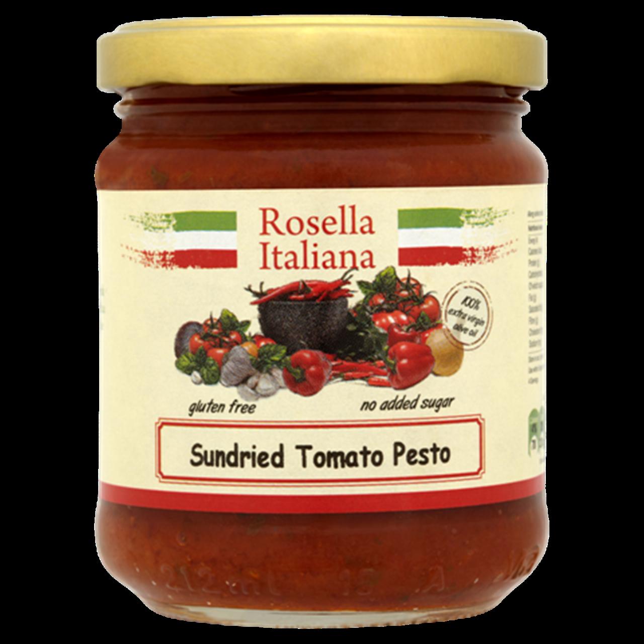 Rosella Sundried Tomato Basil Pesto 180G