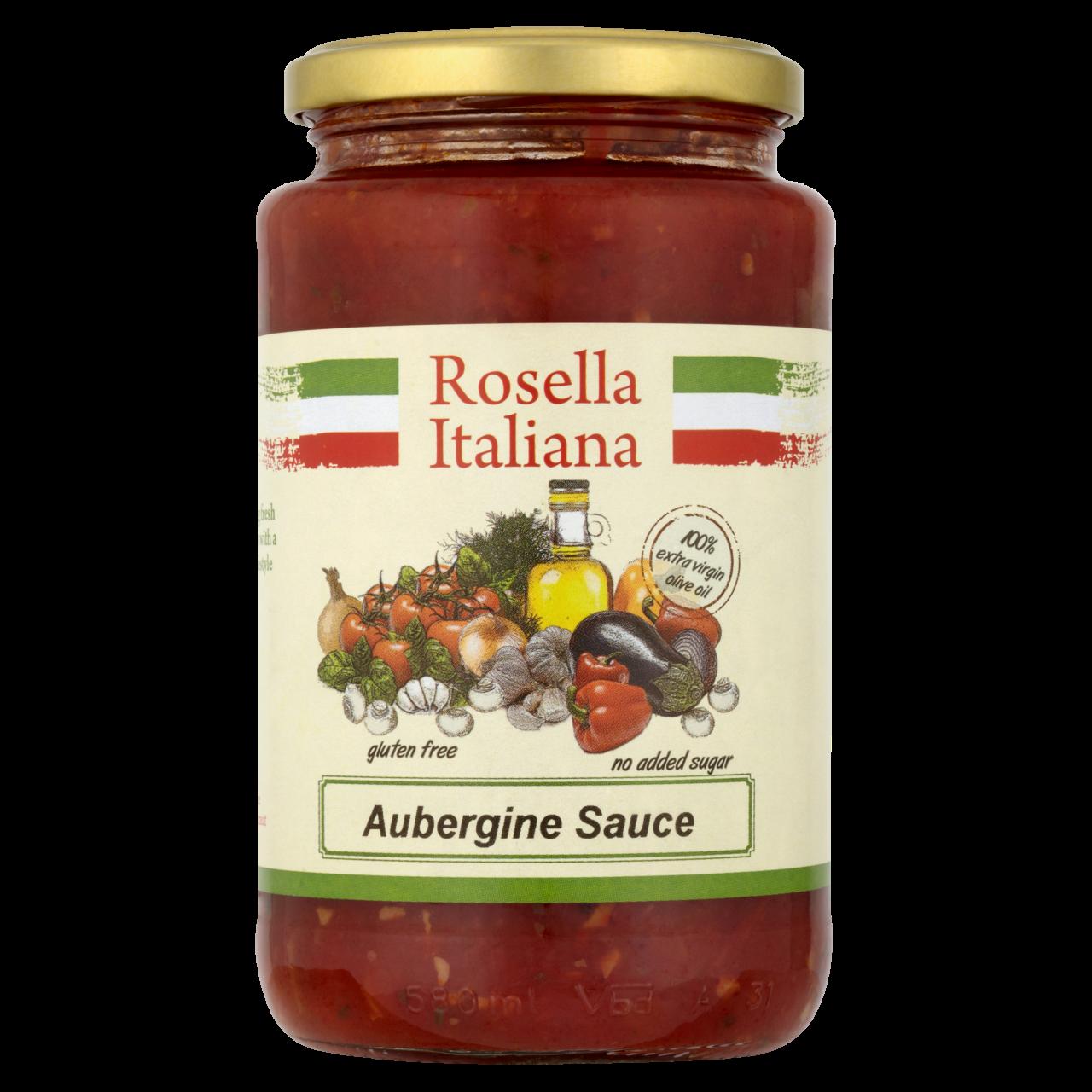 Rosella Tomato Aubergine Sauce 540G