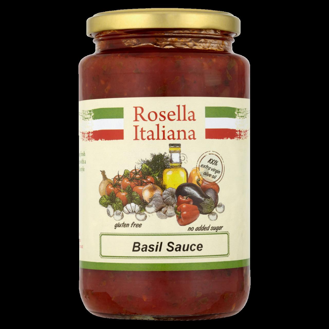 Rosella Tomato Basil Onion Sauce 540G