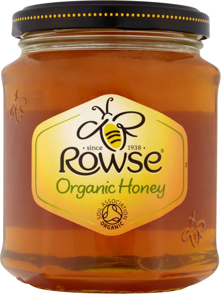 Rowes Organic Clear Honey 340G