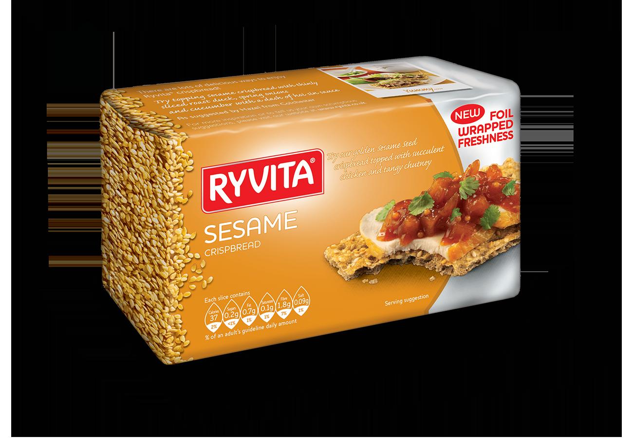 Ryvita  Sesame Seeds (Brown) 250G