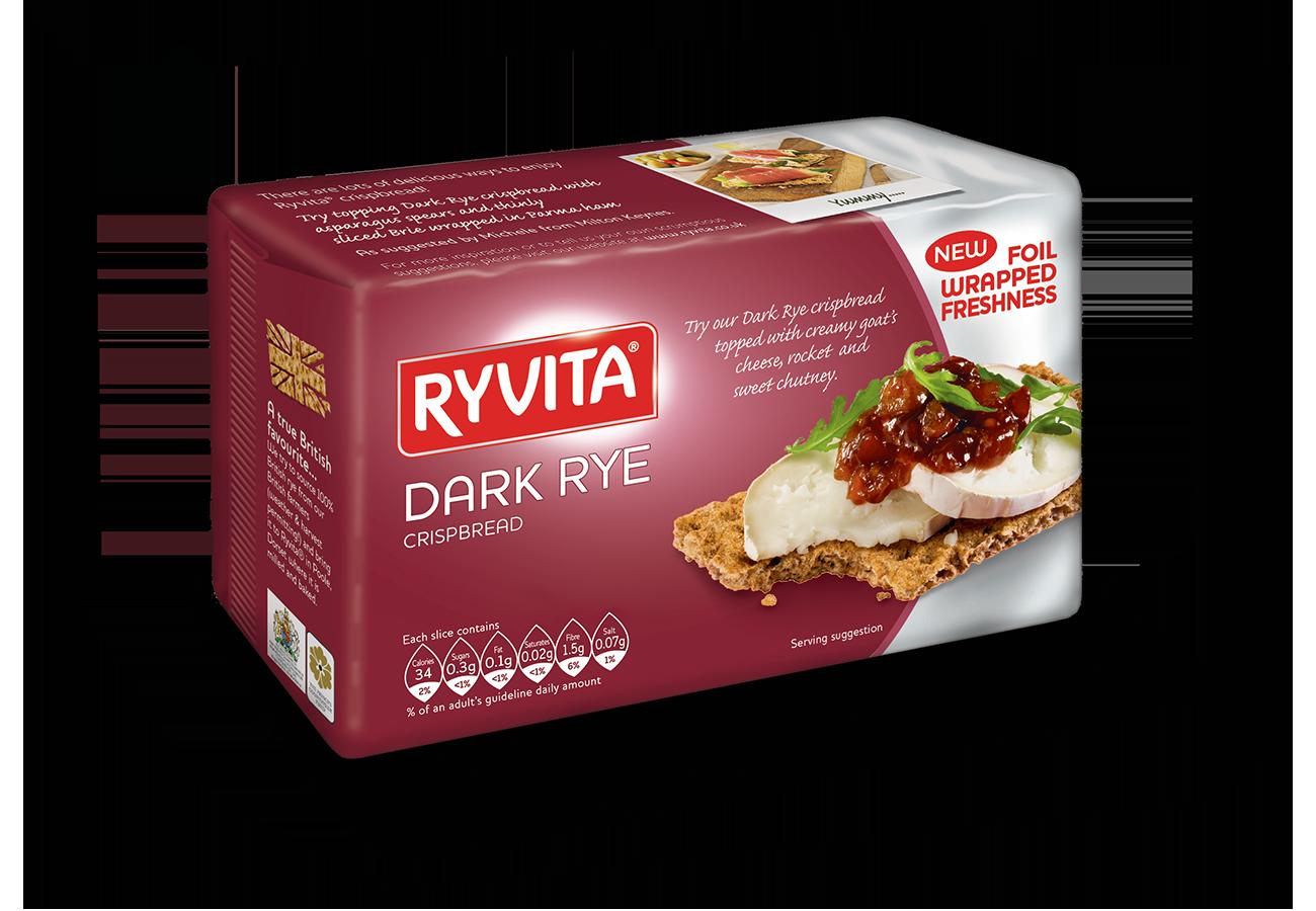 Ryvita Dark Rye Brown (Purple) 250G