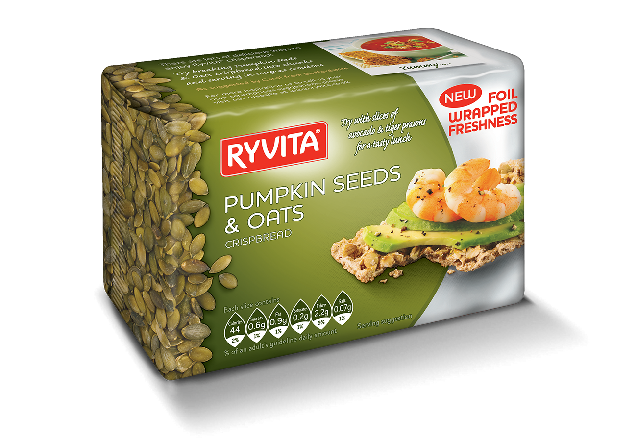 Ryvita Pumpkin Seeds (Dark Green) 200G