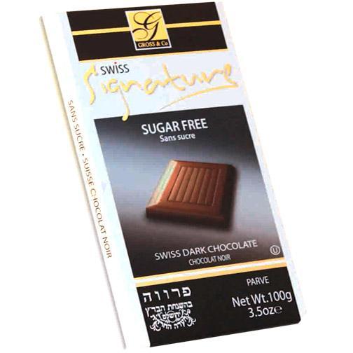 Signature Sugar Free Chocolate  Dark Chocolate 100G