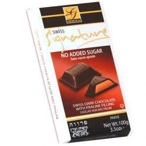 Signature Sugar Free Chocolate  Dark Praline 100G