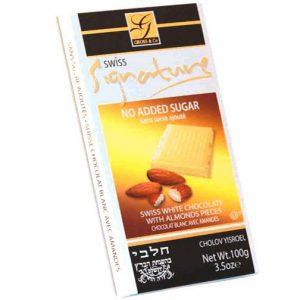 Signature Sugar Free Chocolate White Milk With Almond 100G