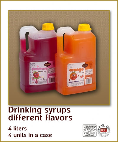 Strawberry Syrup 2L