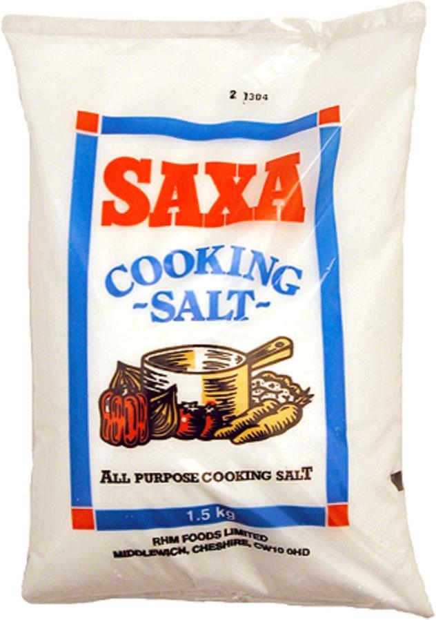 Saxa Salt Cooking 1.5KG
