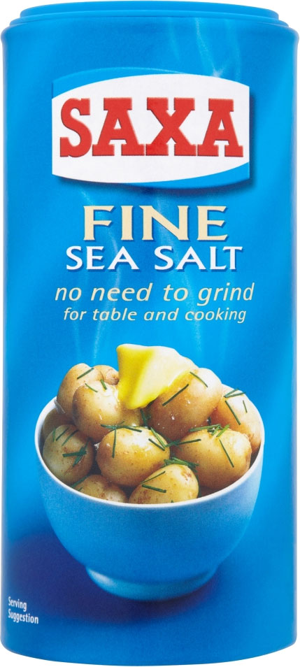 Saxa Sea Salt Fine 350G