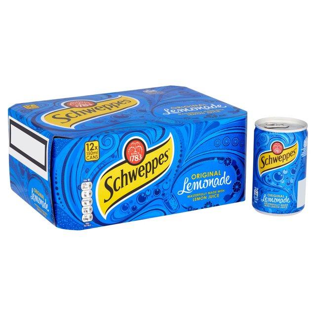 Schweppes Lemonade Cans 330ml