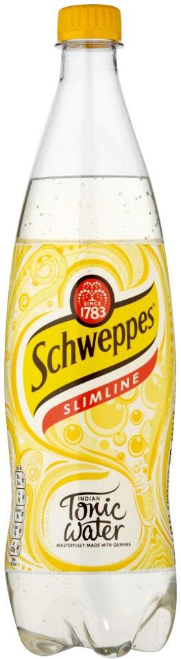 Schweppes Slimline Tonic 1L