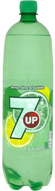 Seven Up Bottles 1.5L