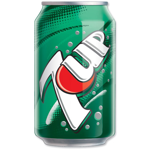 Seven Up Cans 330ml