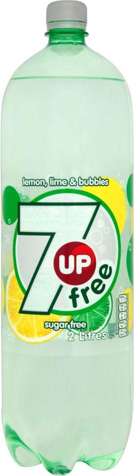 Seven Up Diet Bottles 2L