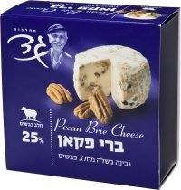 Sheep Brie Cheese with Pecan 25% Gad 125G