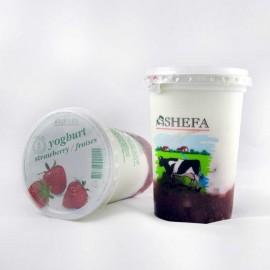 Shefa Strawberry Yogurt 500G
