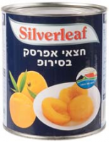 Silver Leaf Peach Halves Tins 825G