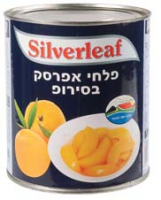 Silver Leaf Peach Slices Tins 825G
