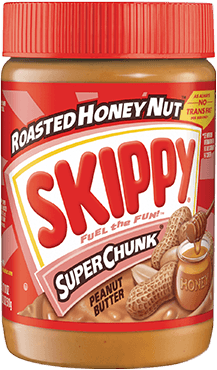 Skippy Honey Roast Chunky (Red) 462G