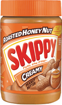 Skippy Honey Roast Creamy (Orange) 462G
