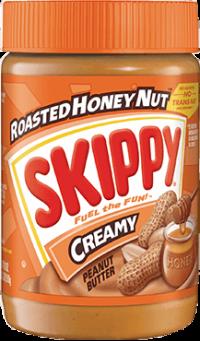 Skippy Honey Roast Creamy (Orange) 462G