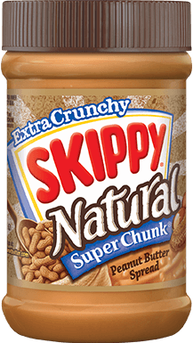 Skippy Natural Chunky (Brown) 462G