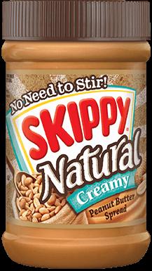 Skippy Natural Creamy (Brown) 462G