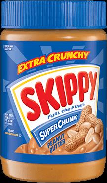 Skippy Peanut Butter Chunky (Dark Blue) 462G