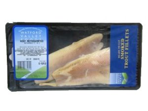 Smoked Trout Fillets 125G