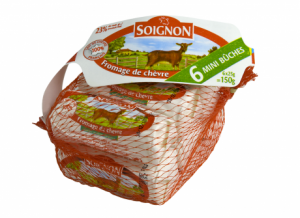 Soignon Goat Cheese Grill Portions 6*25G