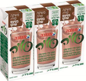 Soy Drink  Choco Flavour Mehadrin Tnuva 3x220ml