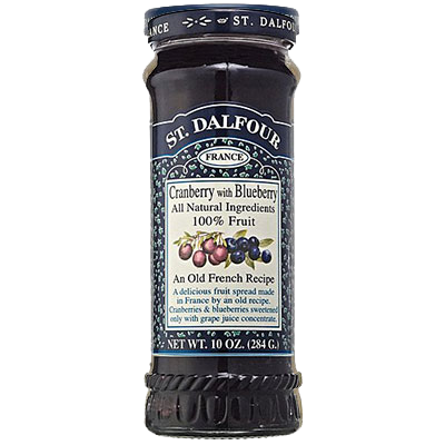 St Dalfour Cranberry Blueberry 284G