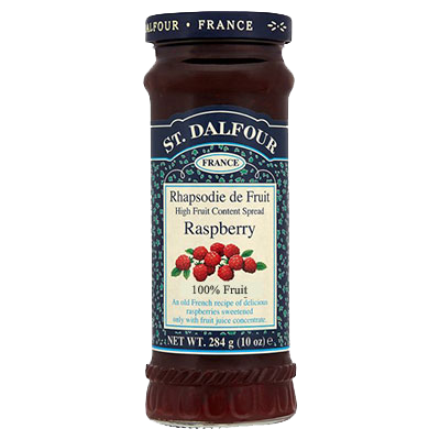 St Dalfour Raspberry Jam 284G