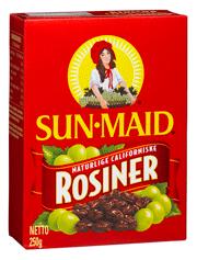 Sunmaid Raisins 250G