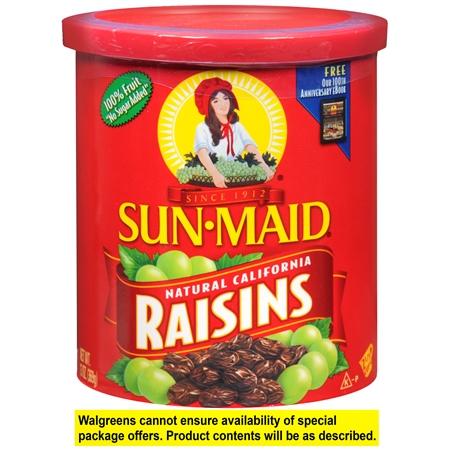 Sunmaid Raisins Drums 500G