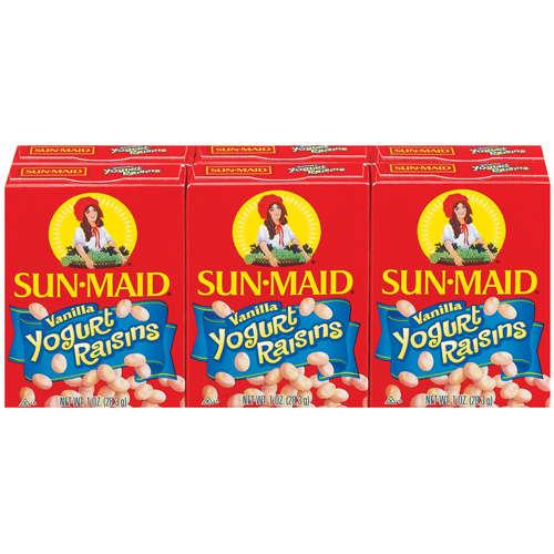 Sunmaid Raisins Snackpack 6*42G