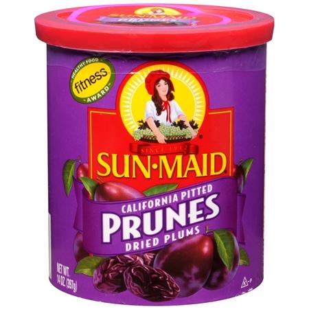 Sunmaid Sweet Prunes Drum 500G