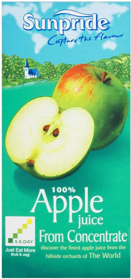 Sunpride Apple Juice 1L
