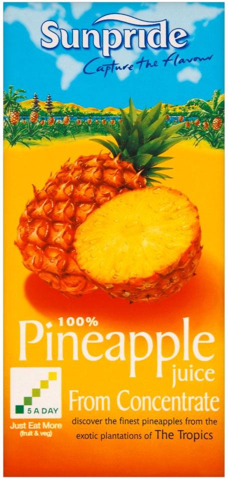 Sunpride Pineapple Juice 1L