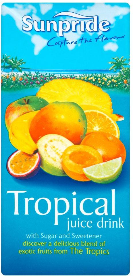 Sunpride Tropical Drink 1L
