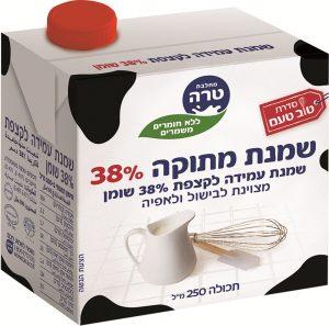 Sweet Cream UHT 38% Tara 250ml