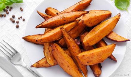Sweet Potato Wedges 400G