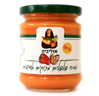 Sweet Red Pepper Spread Olivier 180G