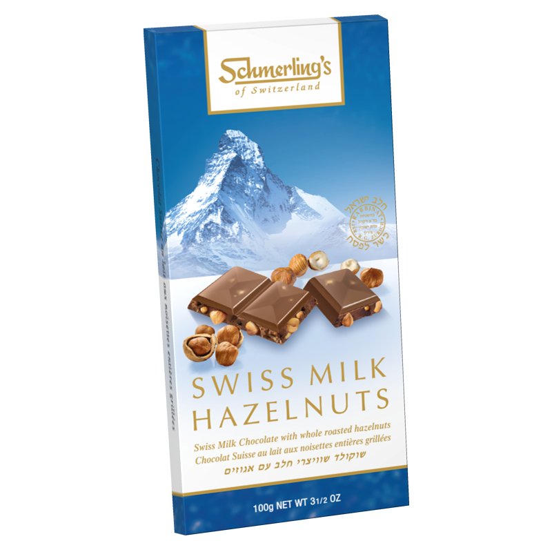 Swiss Milk - With Hazelnuts (Krachnuss) 100G