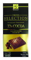Swiss Selection Dark 72% Cocoa Bar 100G