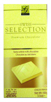 Swiss Selection White Chocolate Bar 100G