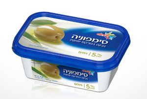 Symphony Cream Cheese with Olives 5% 200G